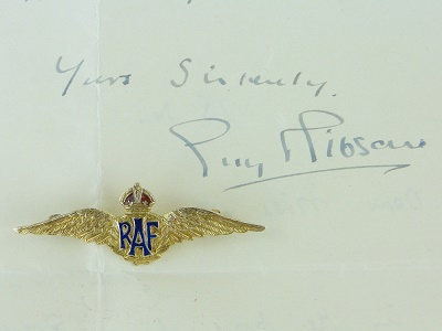 Guy Gibson gold wings brooch Image