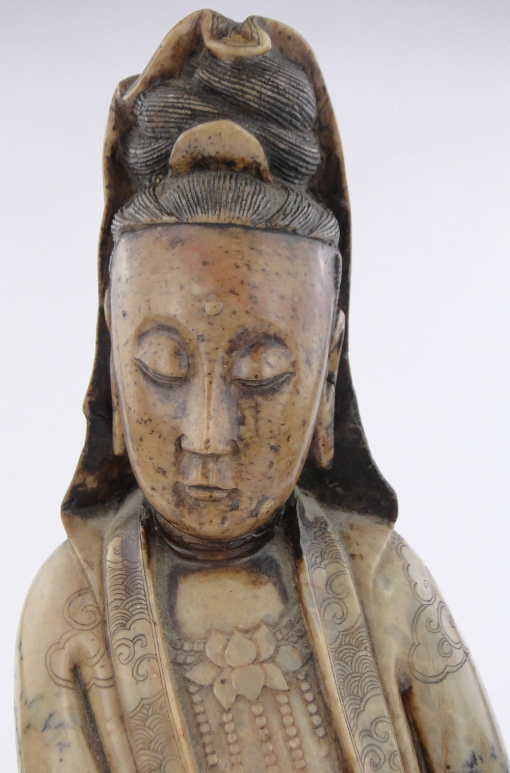 Ming Dynasty Soapstone Figure To Go Under Hammer Image