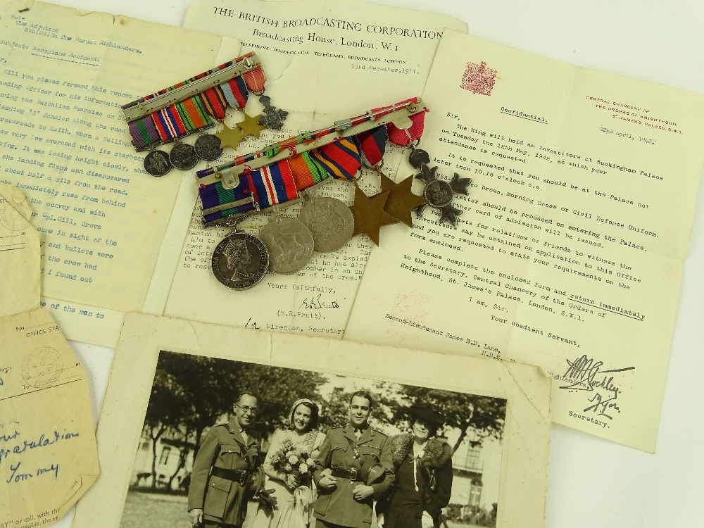 Very Rare OBE War Medal Group up for Sale in Antique Auction Image