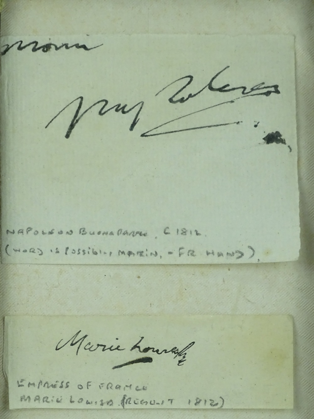 Napoleon Bonaparte Autograph at Auction Image