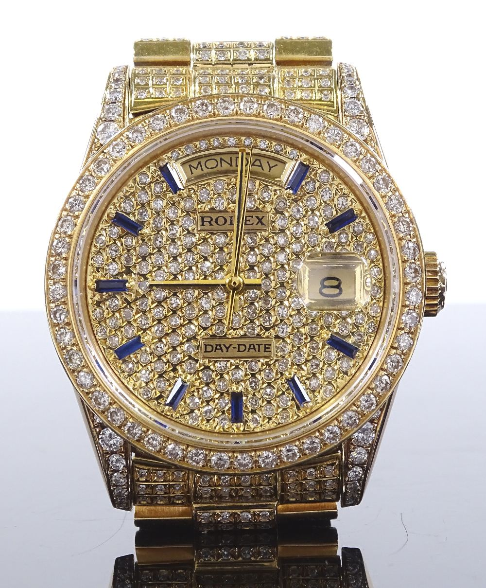 The Most Dazzling Rolex You Will Ever See Image